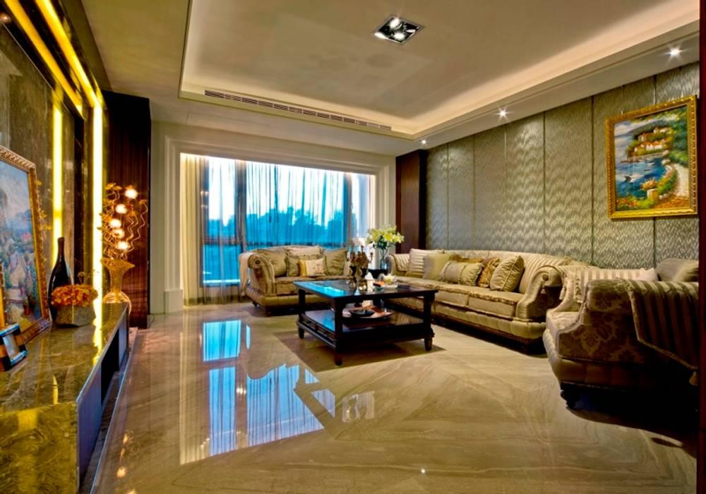 modern Living room by 世家新室內裝修公司