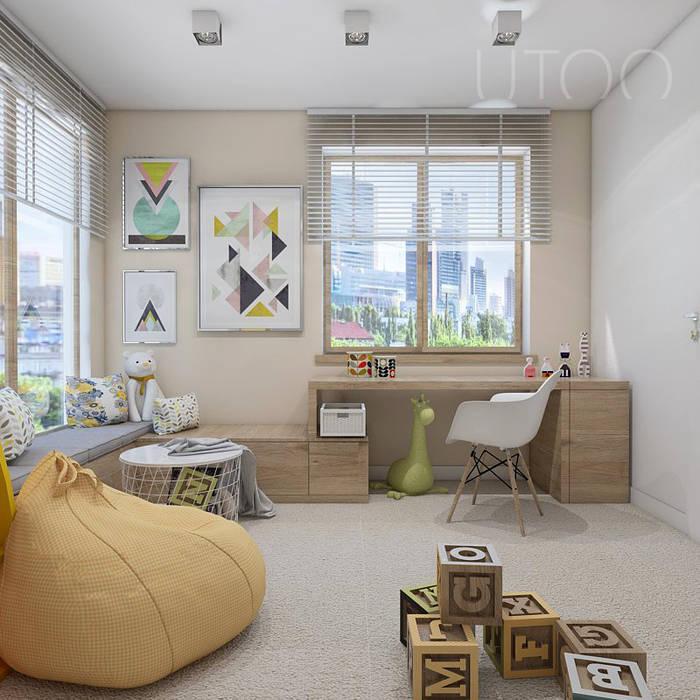 Modern Kid's Room by UTOO-Pracownia Architektury Wnętrz i Krajobrazu Modern
