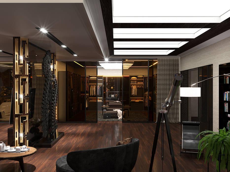 Дизайн-проект интерьера спальни: Спальни в . Автор – ИнтеРИВ