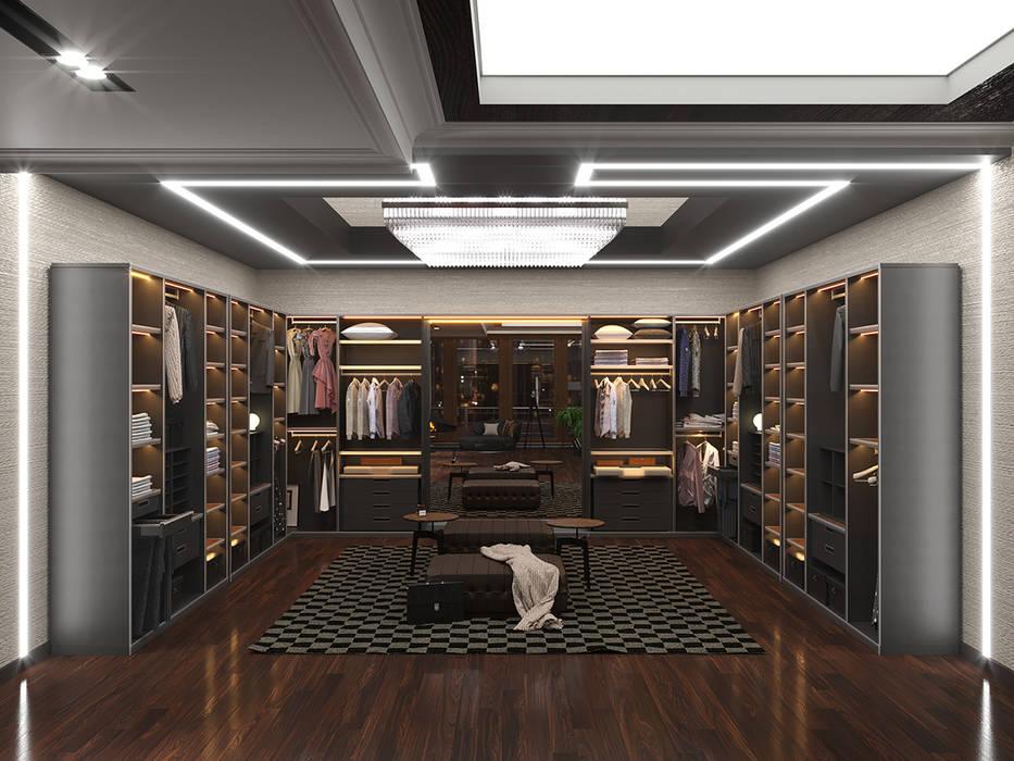 Дизайн-проект интерьера гардеробной: Гардеробные в . Автор – ИнтеРИВ