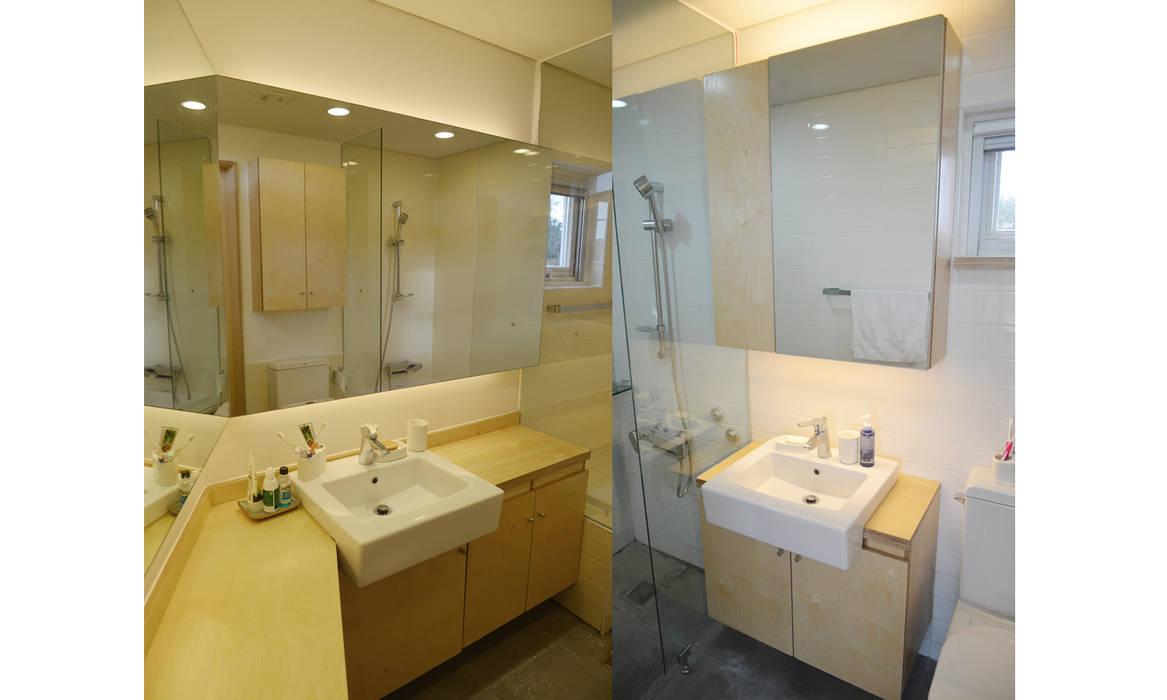 제주 청수리 주택 모던스타일 욕실 by 더 이레츠 건축가 그룹 모던