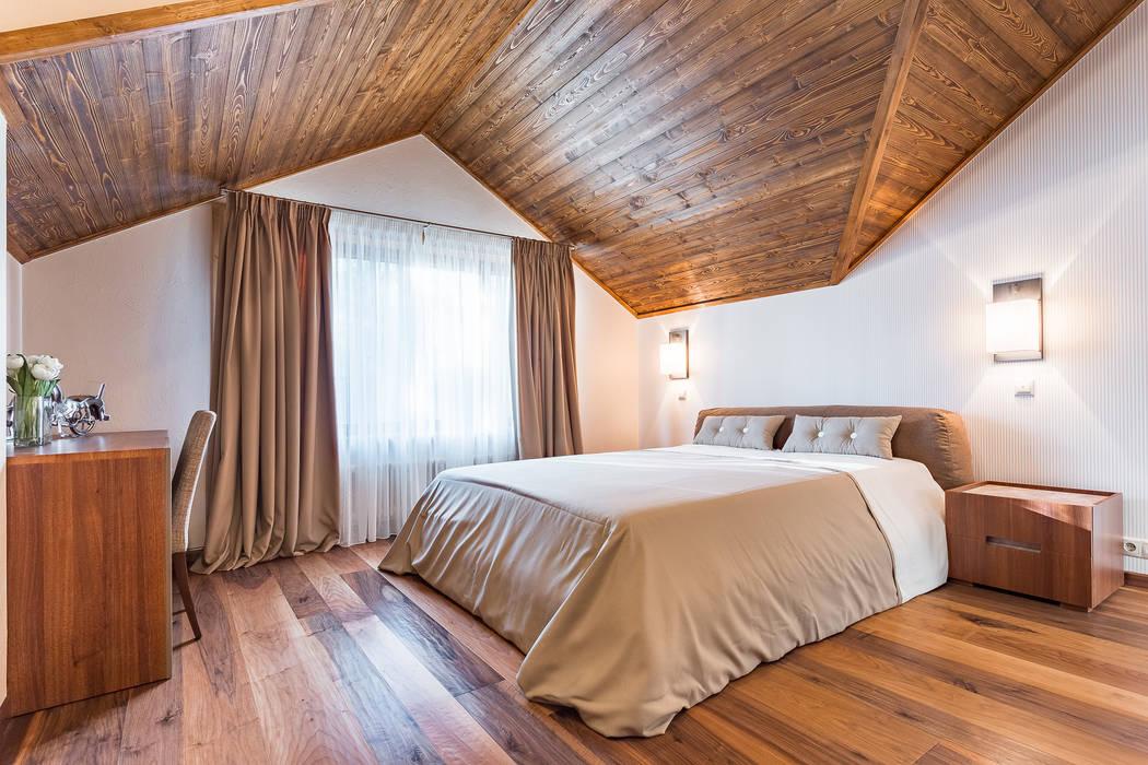 Phòng ngủ phong cách chiết trung bởi ARK BURO Chiết trung Gỗ Wood effect
