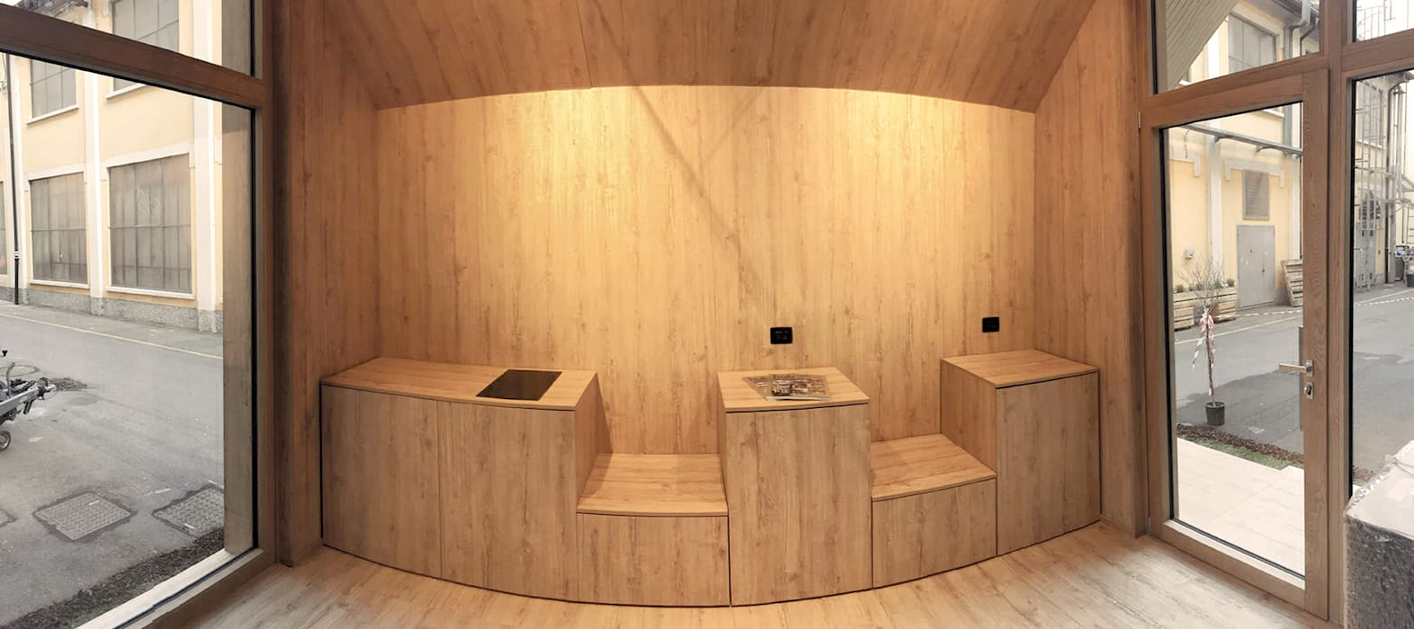 by MODOM srl Scandinavian Wood Wood effect