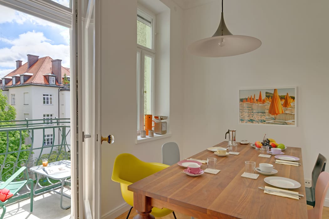 Classic style dining room by arcs architekten Classic