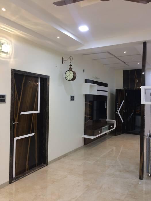 Living Room Minimalist living room by Nabh Design & Associates Minimalist