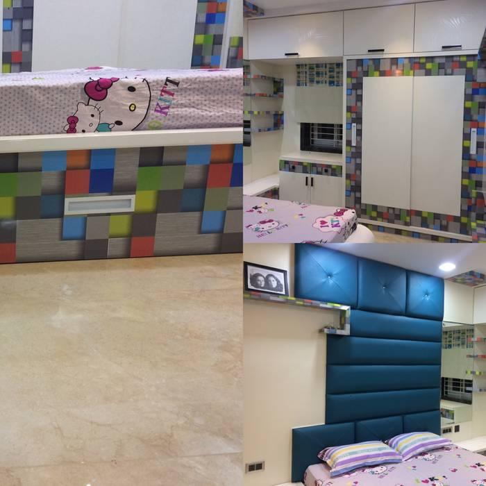 Daughter Bedroom Minimalist bedroom by Nabh Design & Associates Minimalist
