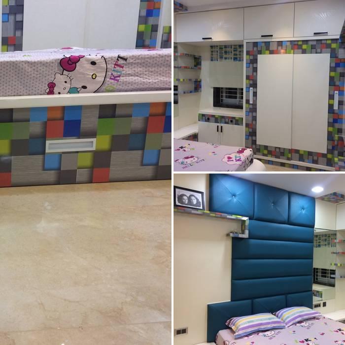Daughter Bedroom :  Bedroom by Nabh Design & Associates