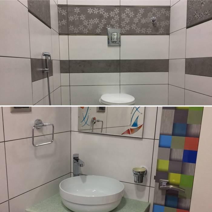 Bathroom Design :  Bathroom by Nabh Design & Associates