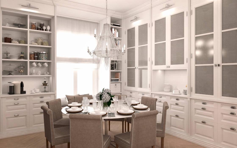 Residencial Jose Ortega y Gasset: Cocinas de estilo  de DISIGHT