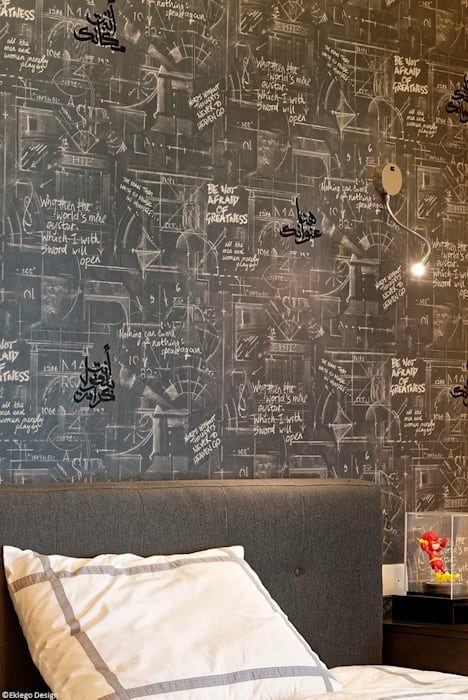 Boy's bedroom: eclectic Bedroom by Jam Space Ltd