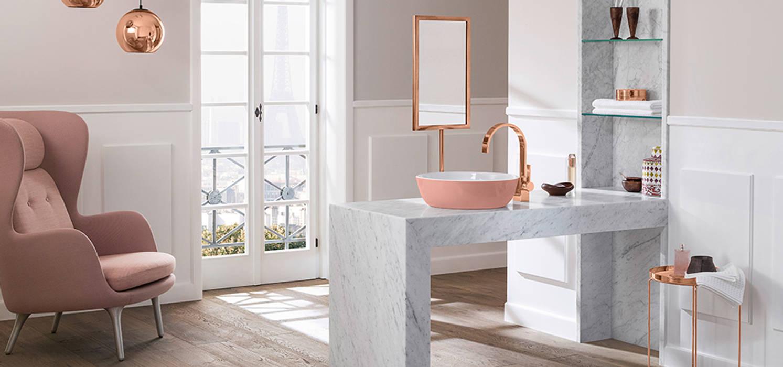 Lavatório e torneira VILLEROY & BOCH Casas de banho modernas por Aprifer Moderno