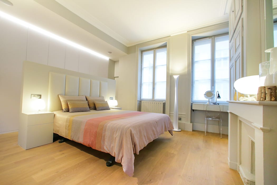 Agencement suite parentale chambre with agencement suite parentale suite parentale mansard e - Agencement chambre ...