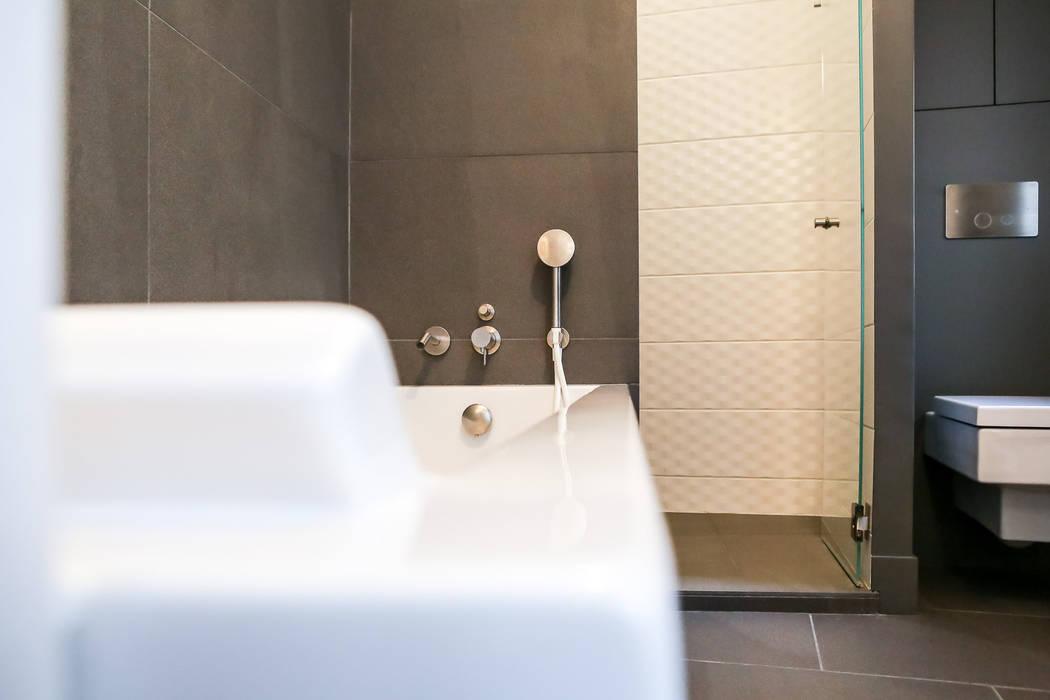 Aménagement d\'une salle de bain contemporaine: salle de ...
