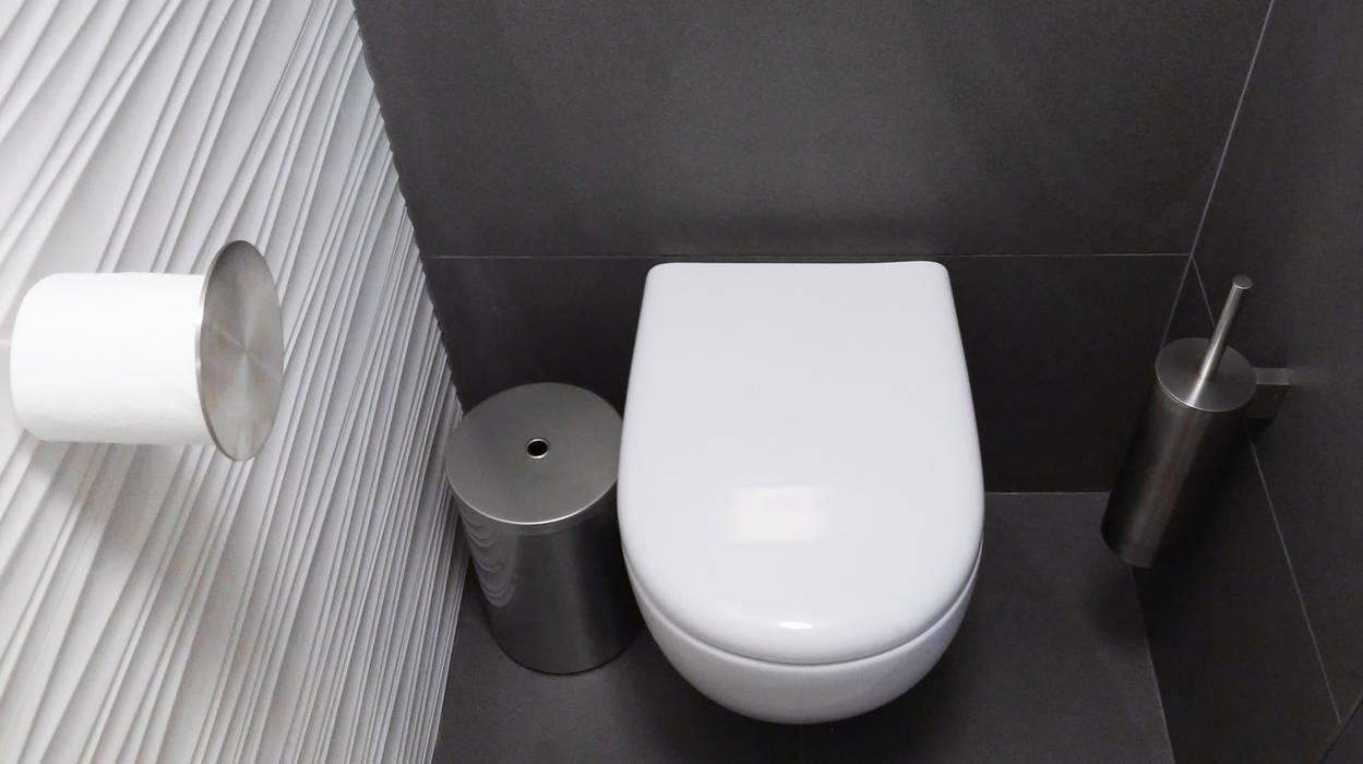 Agencement et aménagement de toilettes: salle de bains de style par ...