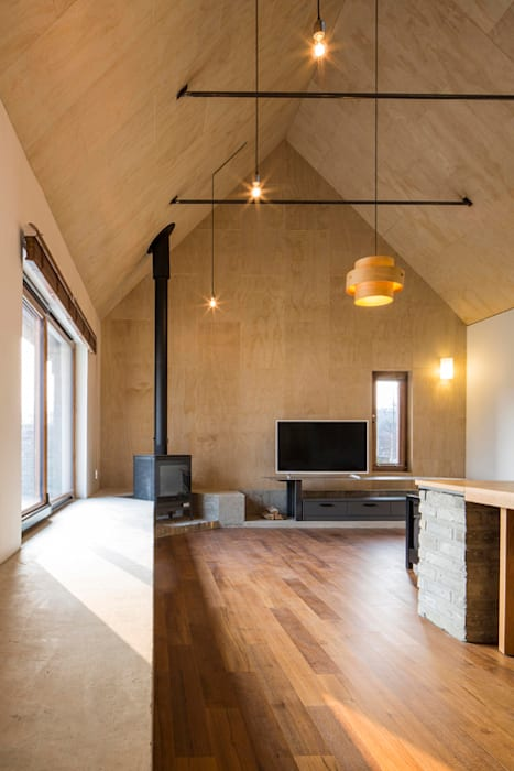 Moderne Wohnzimmer von siwa architects Modern