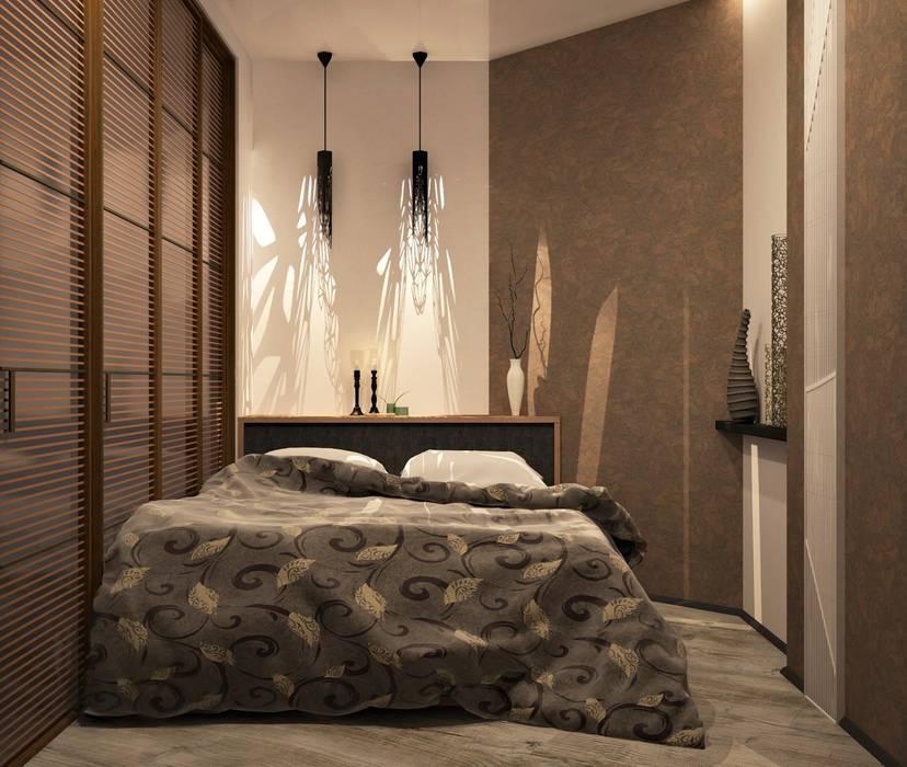 1 к.кв. для парня в ЖК Черемушки 2 (51 кв.м): Спальни в . Автор – ДизайнМастер
