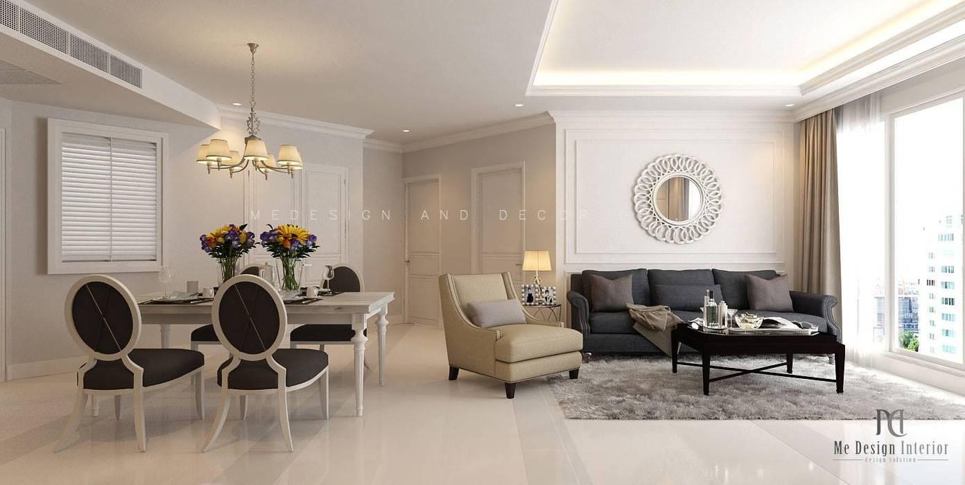 de style  par Medesign Interior - ออกแบบตกแต่งภายใน ,