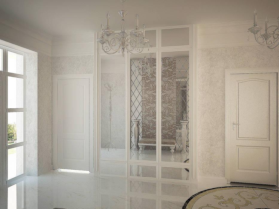 Зеркальные поверхности: Коридор и прихожая в . Автор – anydesign