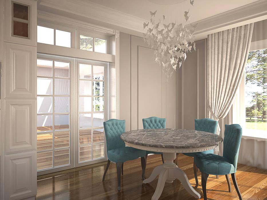 Столовая: Столовые комнаты в . Автор – anydesign,