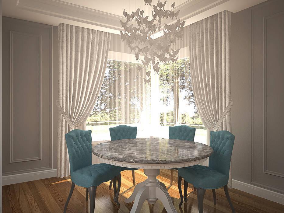 Столовая: Столовые комнаты в . Автор – anydesign