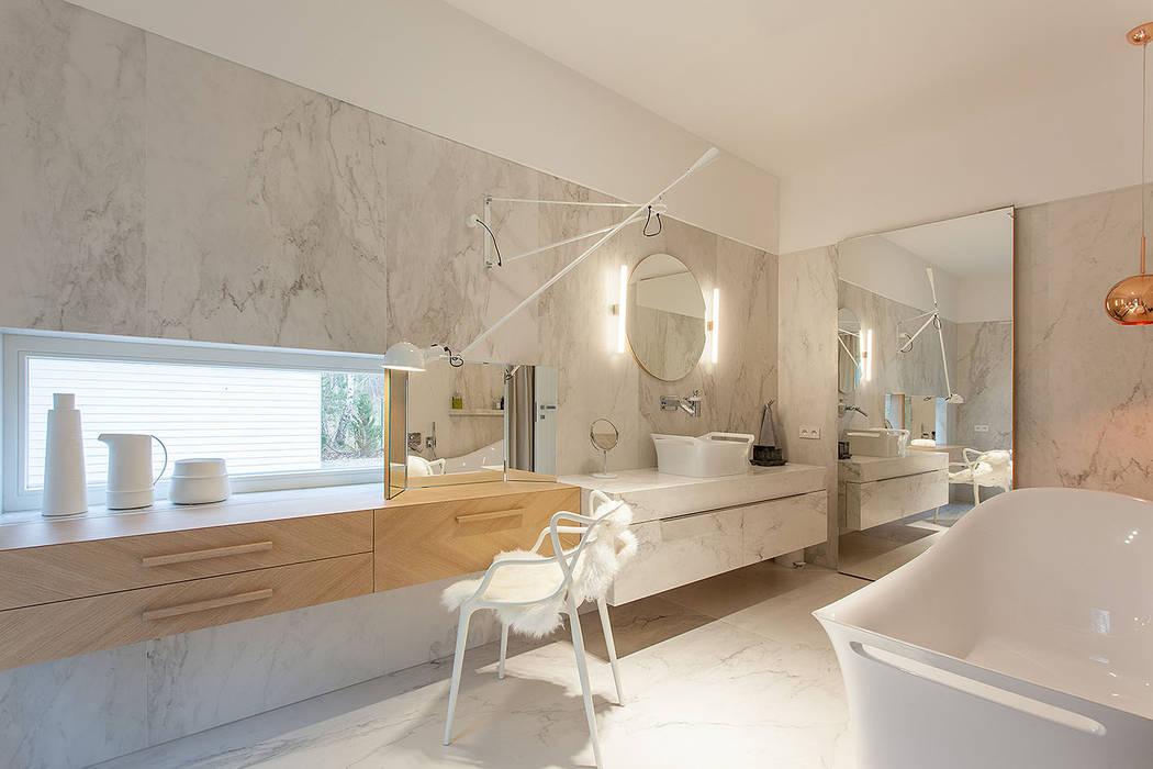 Dom Na Wsi Styl W Kategorii łazienka Zaprojektowany Przez