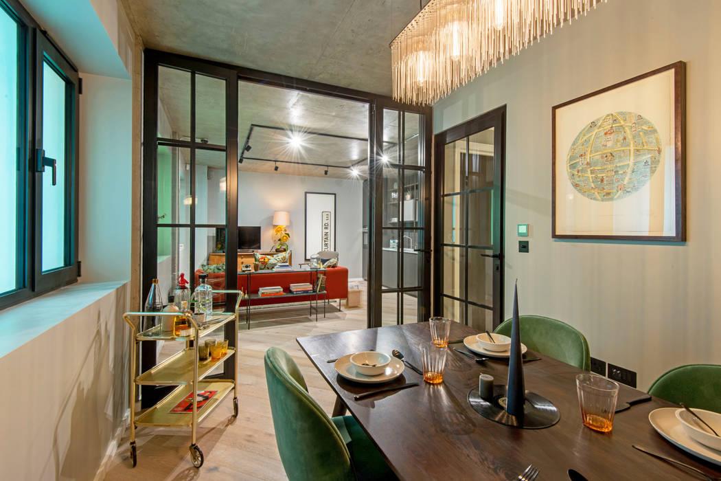 Hamilton Court Developments X Crepuscule : Bureau de style de style Moderne par Crepuscule