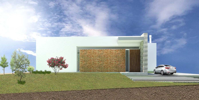 CASA JM Casas modernas: Ideas, imágenes y decoración de Arquitecta Obadilla Moderno Ladrillos