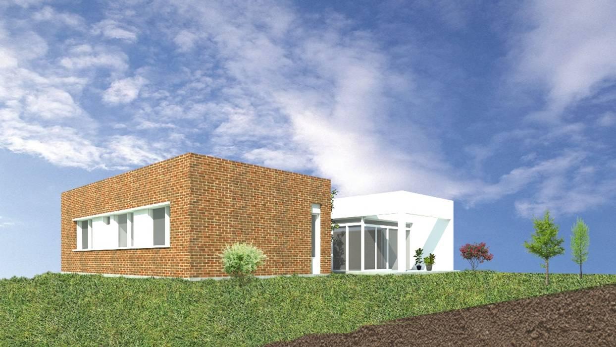 CASA JM: Casas de estilo  por Arquitecta Obadilla