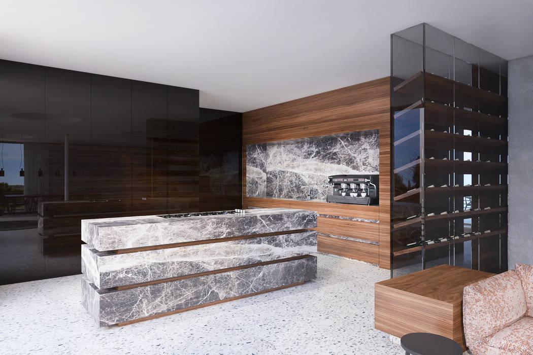 Kitchen by destilat Design Studio GmbH, Modern