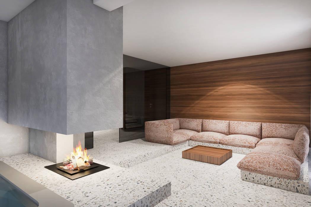 Living room by destilat Design Studio GmbH,