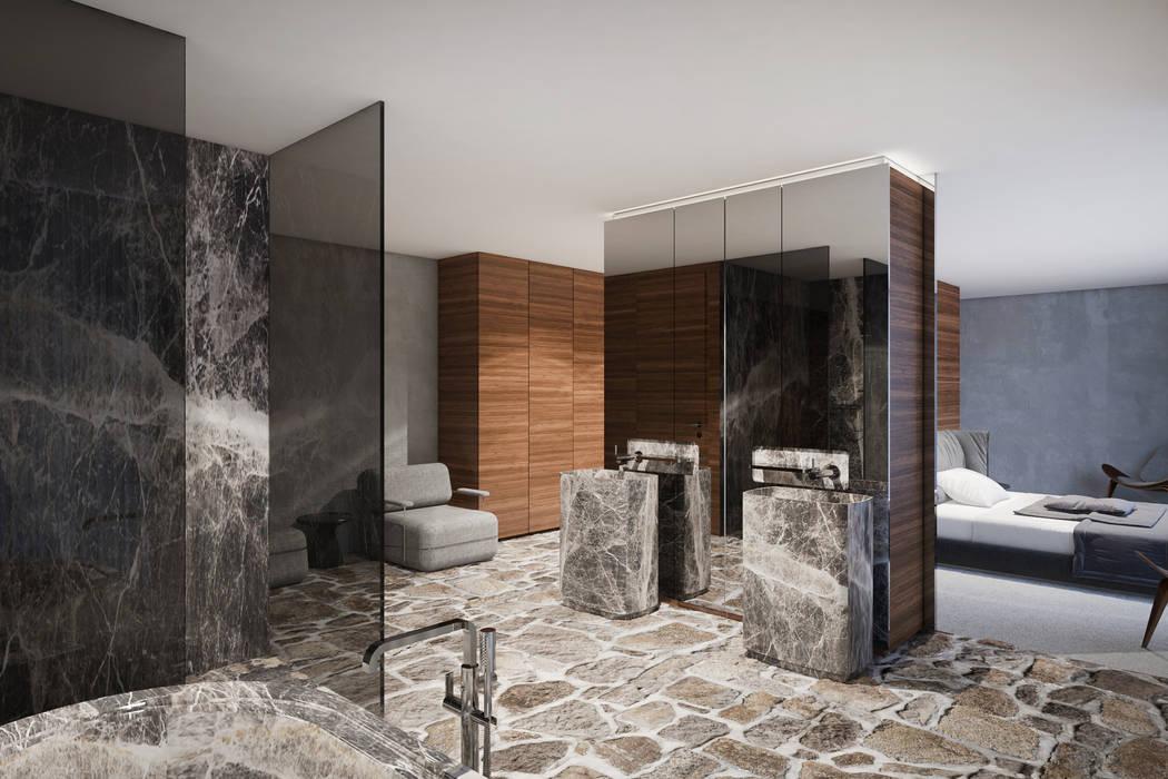 Bathroom by destilat Design Studio GmbH, Modern