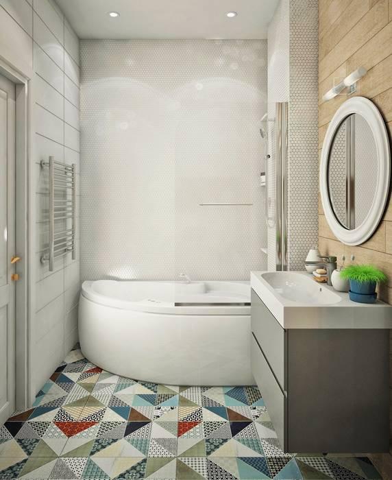 Salle de bains de style  par Ирина Рожкова - частный дизайнер интерьера,