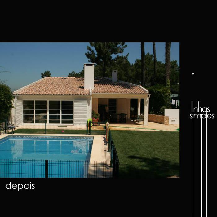 Linhas Simples Rumah Gaya Rustic