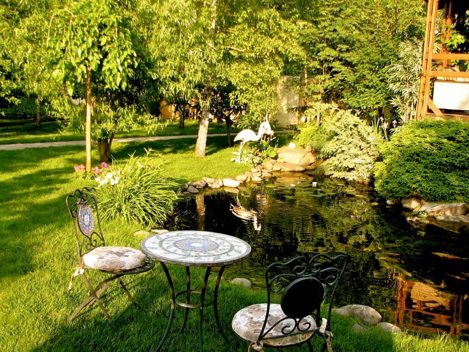 Приковать внимание: Сады в . Автор – Укр Ландшафт Парк, Азиатский