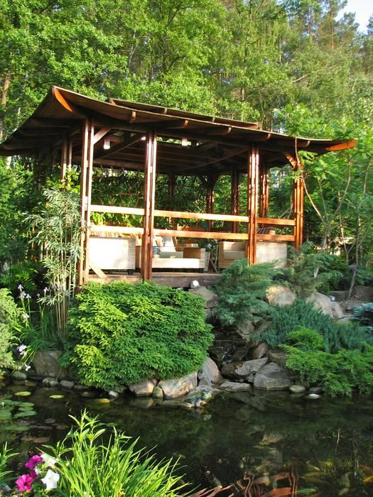 Незыблемые основы Сад в азиатском стиле от Укр Ландшафт Парк Азиатский