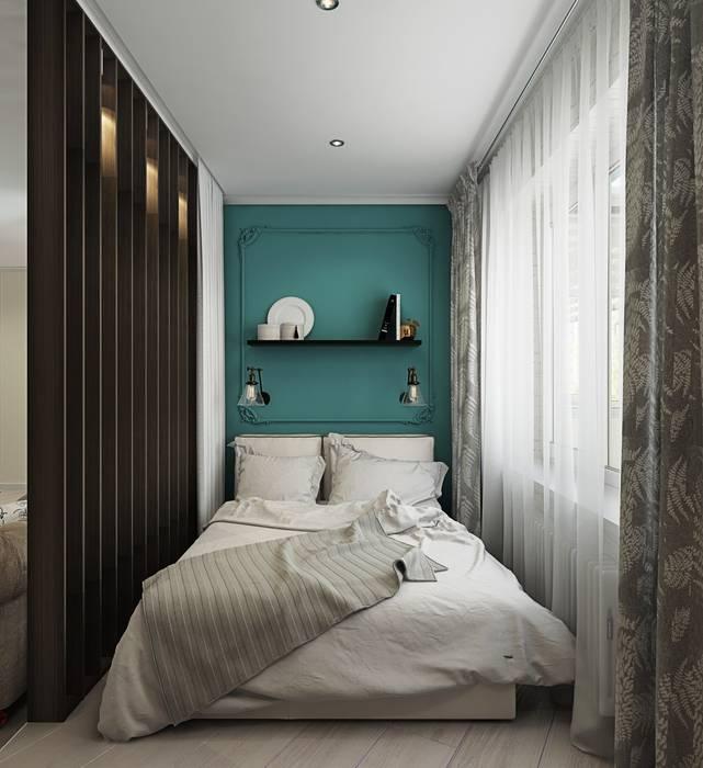 1 к.кв. для девушки в ЖК Черемушки 2 (51 кв.м): Спальни в . Автор – ДизайнМастер