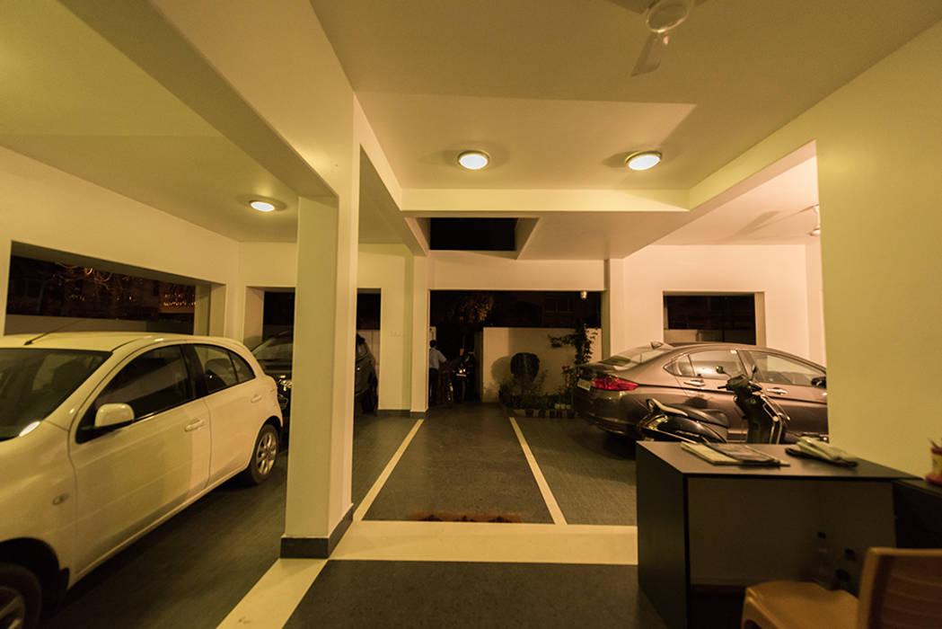 The Entrance:  Corridor & hallway by Ankit Goenka