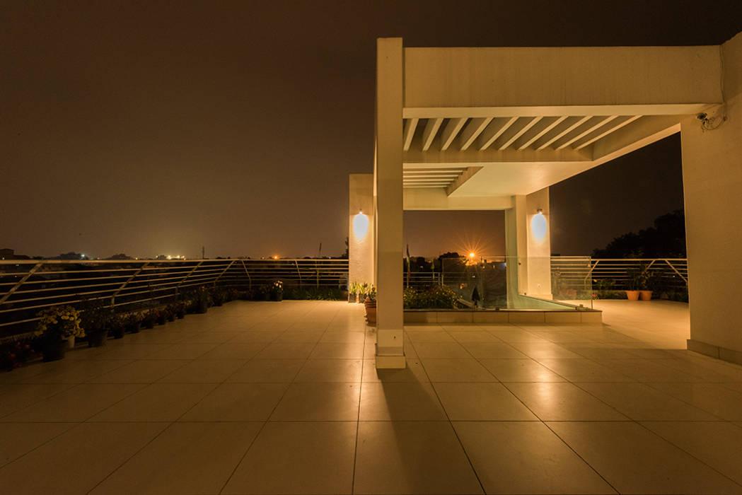 Terrace Modern balcony, veranda & terrace by homify Modern