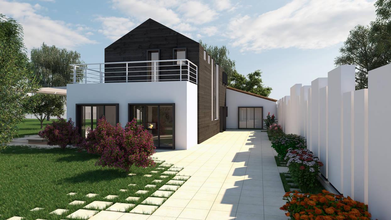 Rendering 03 esterni case in stile di fad fucine for Stili di case esterni