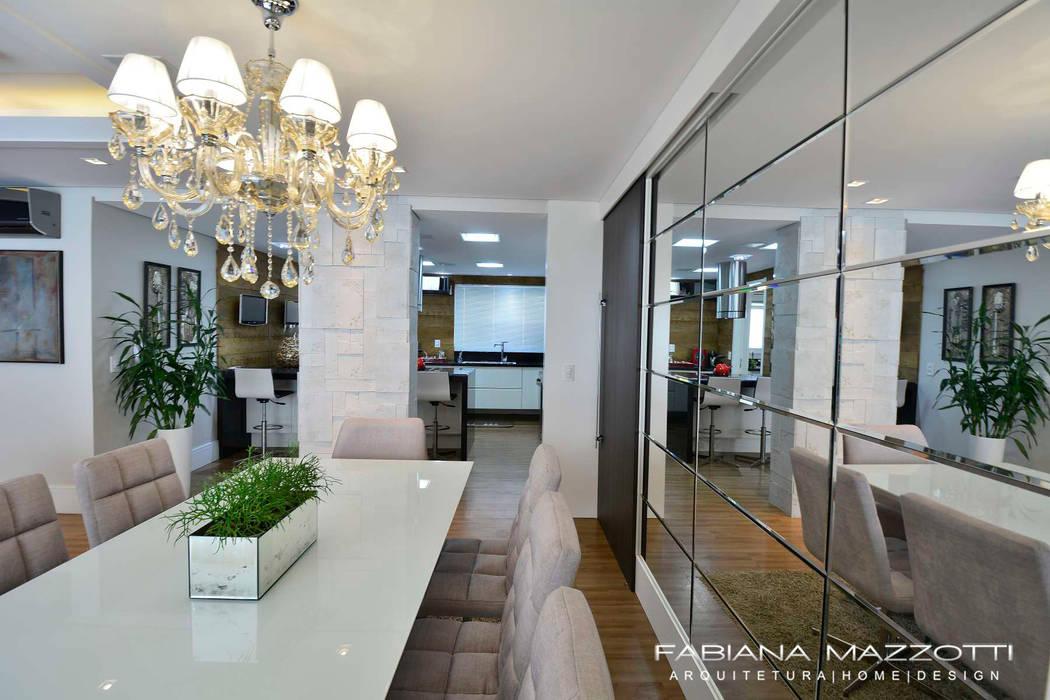 Moderne Esszimmer von Fabiana Mazzotti Arquitetura e Interiores Modern