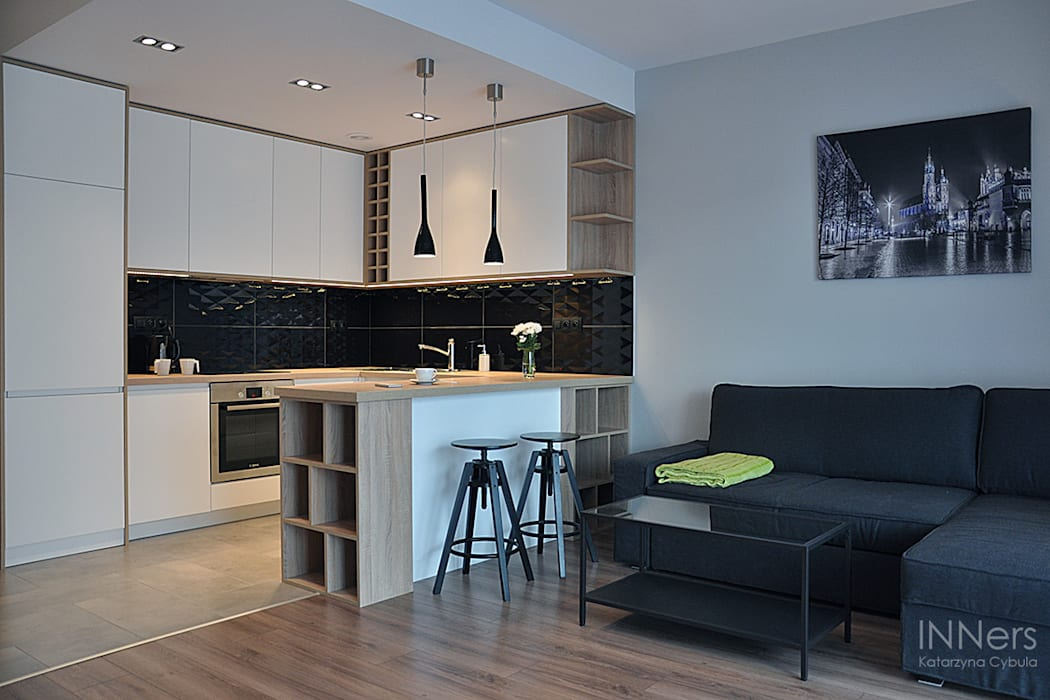 Küche von INNers - architektura wnętrza,