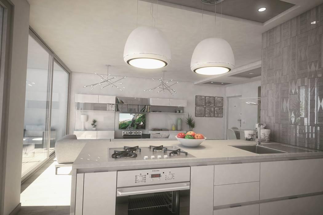 Modern style kitchen by Ivan Rivoltella Modern