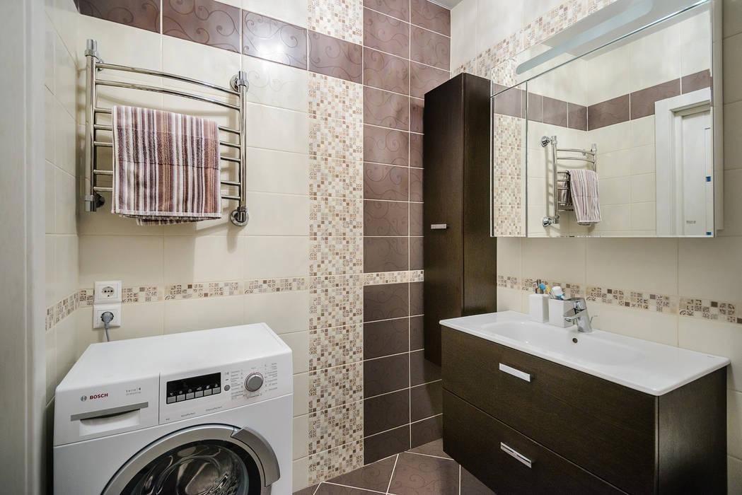 Ванная комната: Ванные комнаты в . Автор – Студия Анастасии Бархатовой