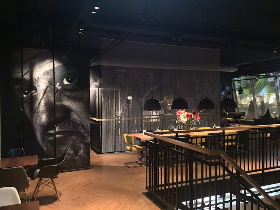 Fellini Rotterdam:  Bars & clubs door LC Interior Architects BV, Industrieel