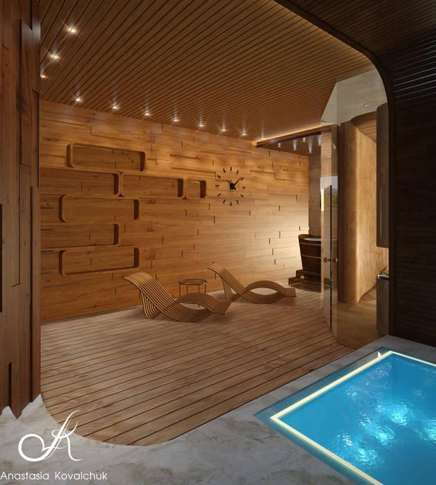 Spa Modern Spa by Design studio by Anastasia Kovalchuk Modern