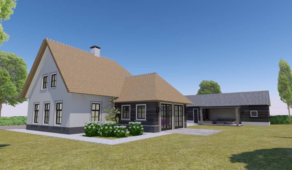 Woning Harmelen:  Huizen door Architectenbureau van den Hoeven b.v.,