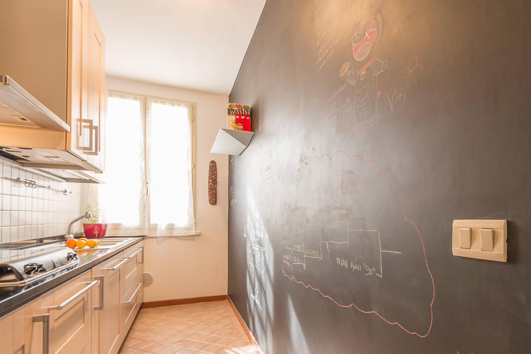 Onedone lavagna da cucina incorniciata stile vintage