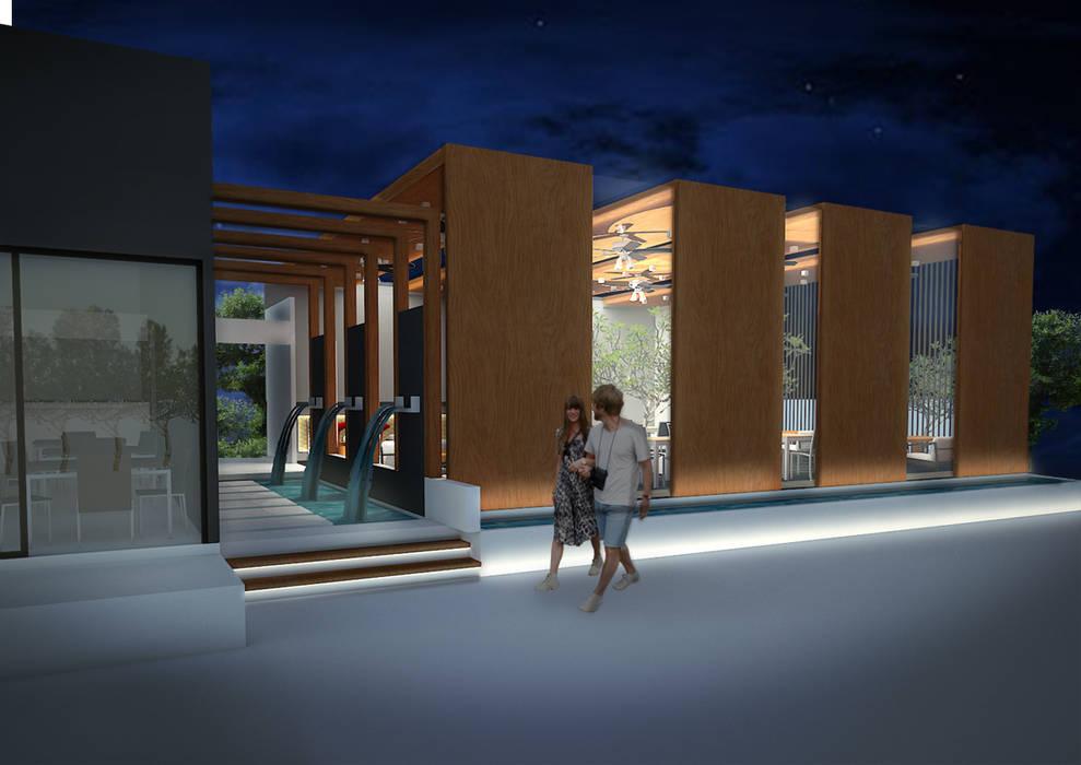 ร้านอาหารบ้านนาย โดย No.13 Design โมเดิร์น