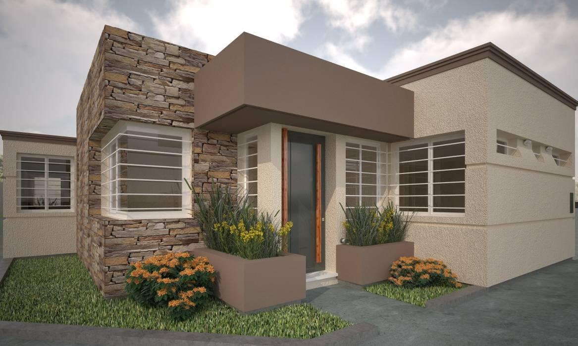Vivienda en San Martin: Casas de estilo  por Estudio Barrios Astuto,