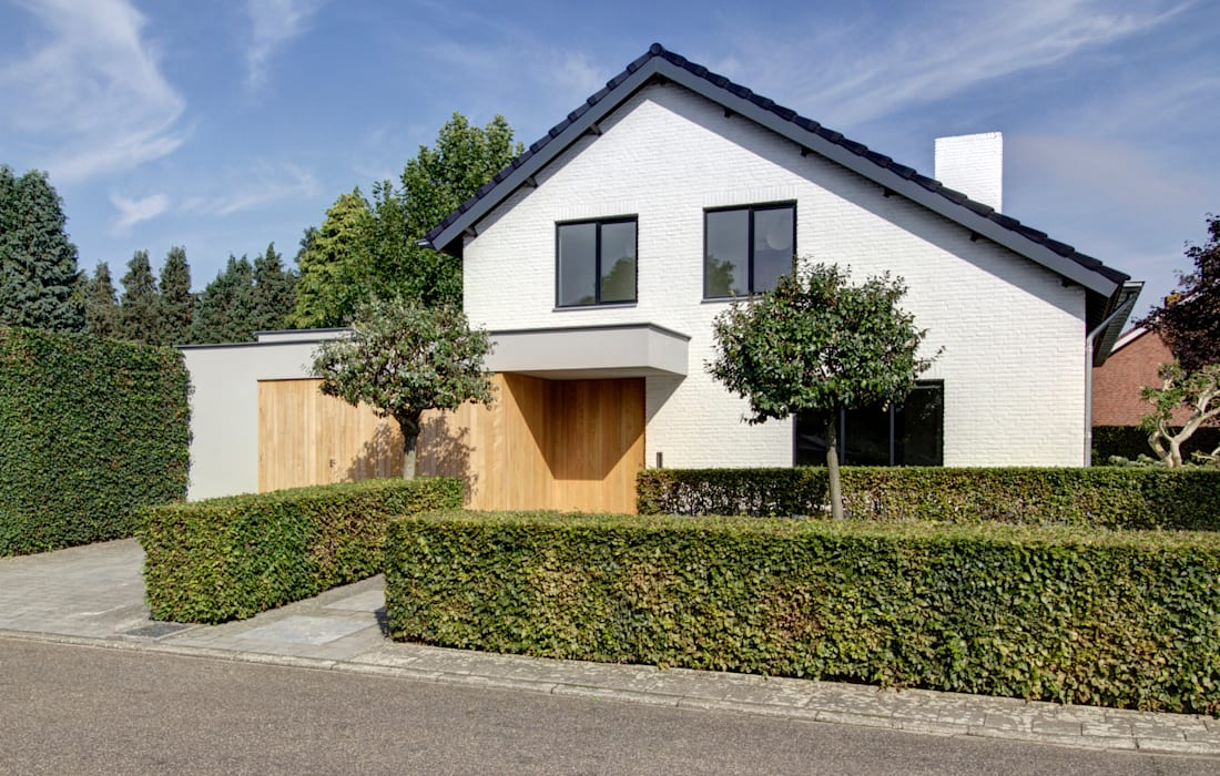 woonhuis H te Heythuysen: moderne Huizen door CHORA architecten